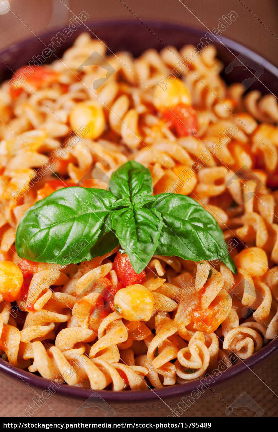 pasta, collection, -, fusilli, with, chick-peas, pasta - 15795489