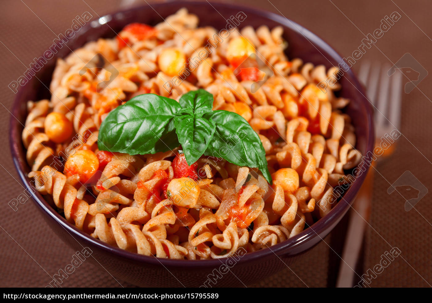 pasta, collection, -, fusilli, with, chick-peas, pasta - 15795589