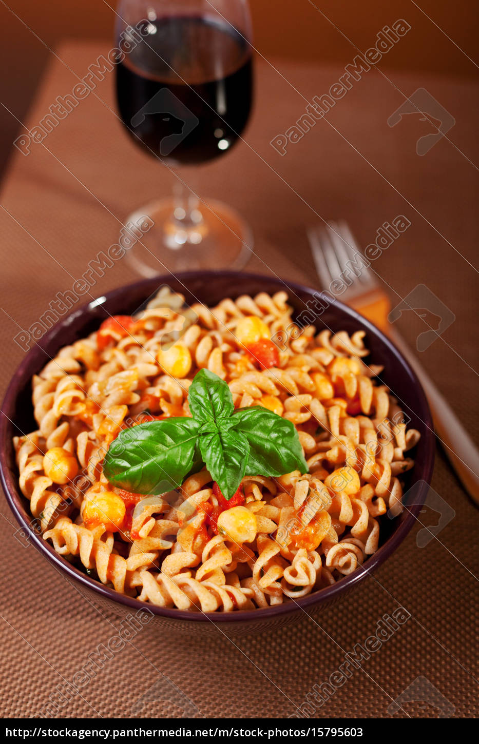 pasta, collection, -, fusilli, with, chick-peas, pasta - 15795603