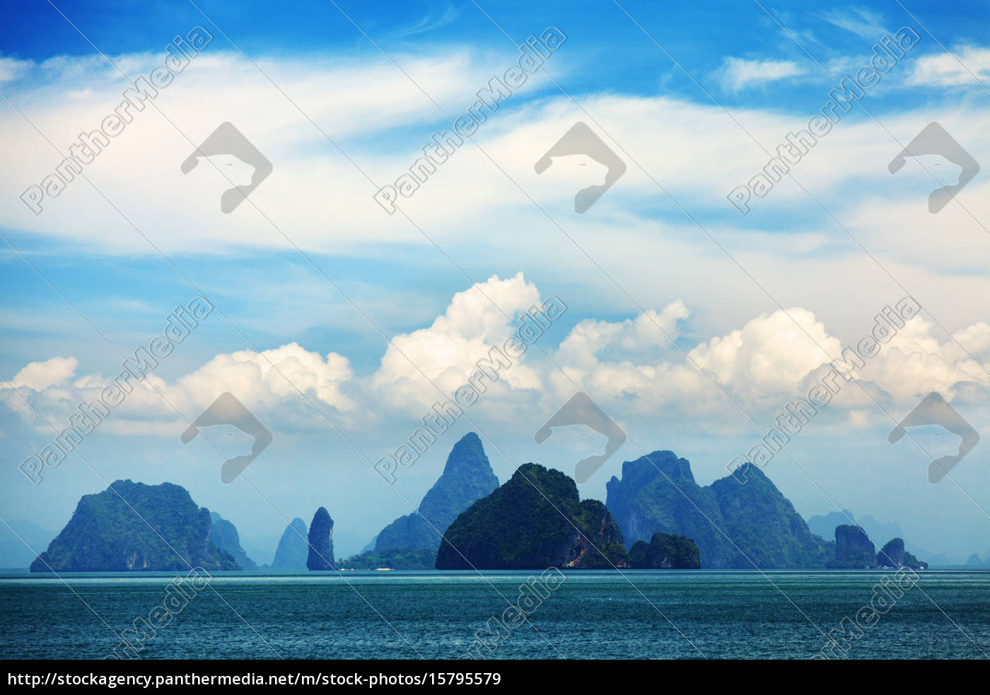 phang, nga, archipelago, near, phuket, , thailand, phang - 15795579