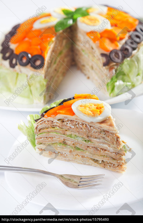 salty, pancake, cake, salty, pancake, cake, salty, pancake - 15795493