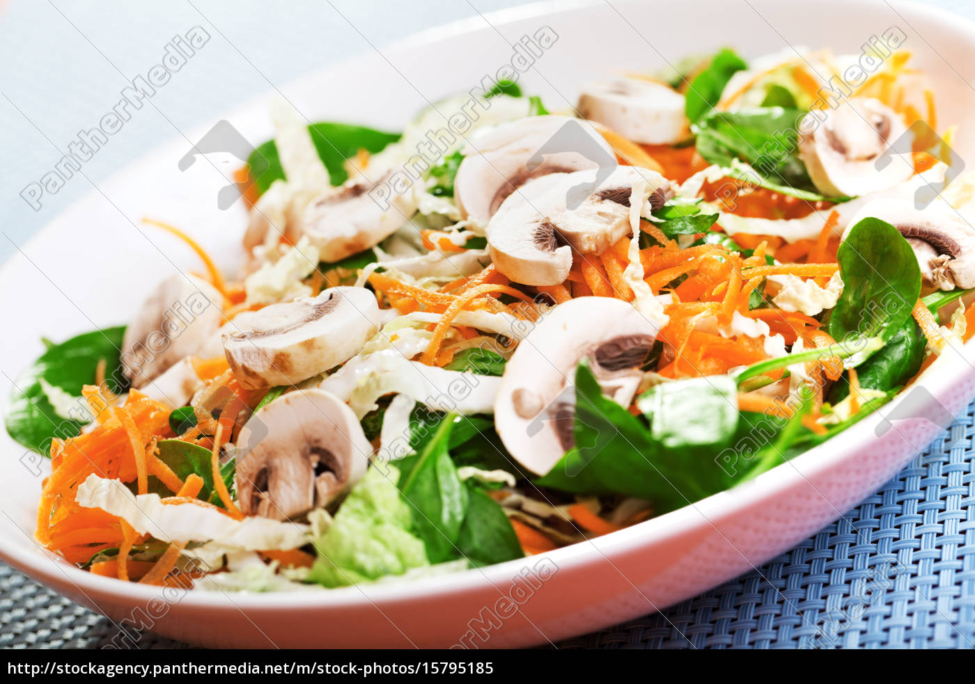 spinach, salad, with, carrots, spinach, salad, with - 15795185