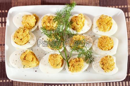 stuffed, eggs, stuffed, eggs, stuffed, eggs, stuffed, eggs - 15795477