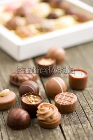 various, chocolate, pralines - 15795557