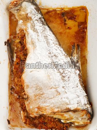 baked, stuffed, carp, baked, stuffed, carp, baked, stuffed - 15796397