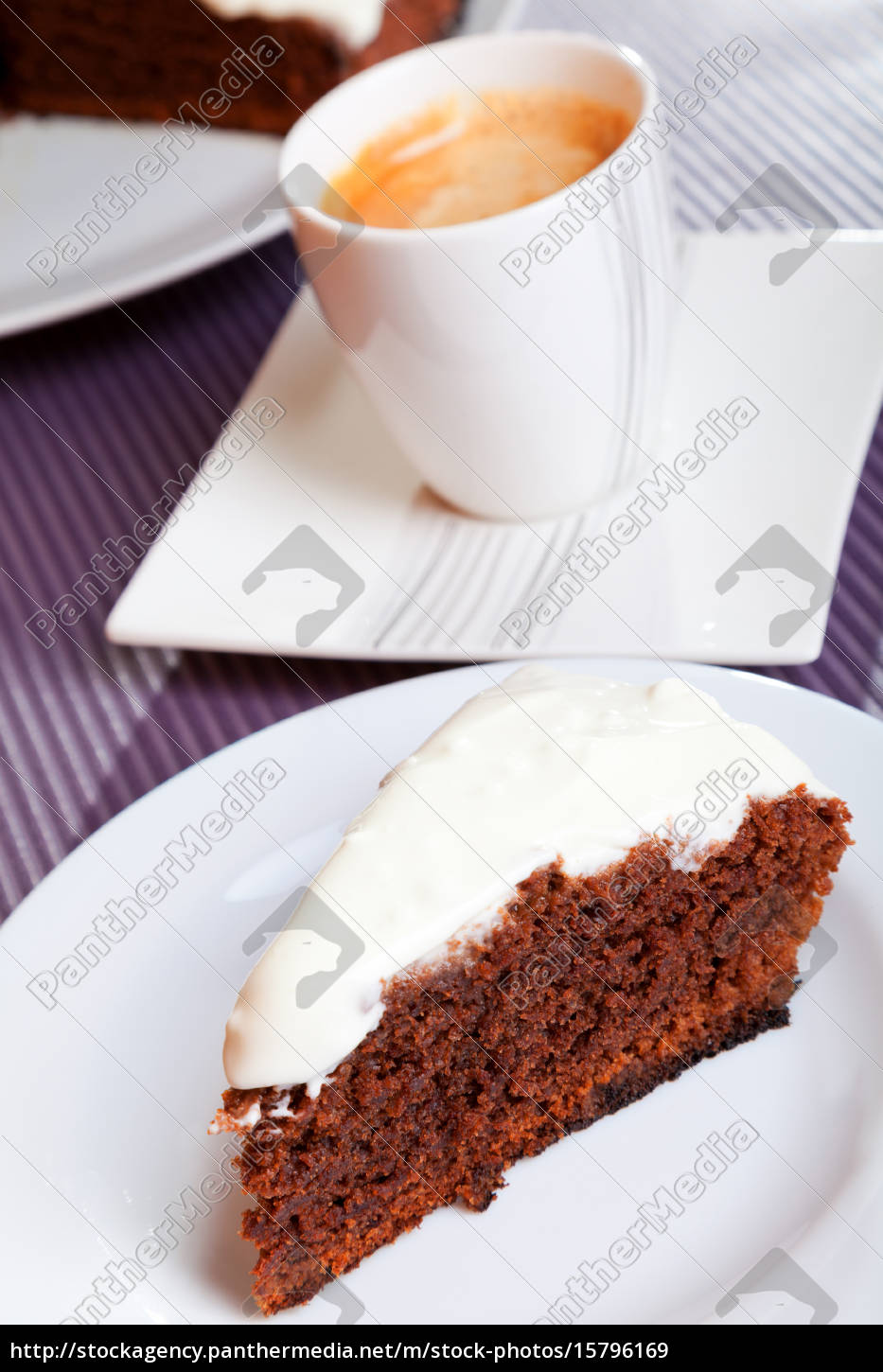 chocolate, cake, with, white, cream, chocolate, cake - 15796169