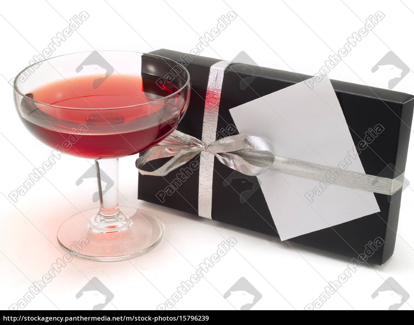 cocktail, and, gift, with, greeting, card, cocktail - 15796239