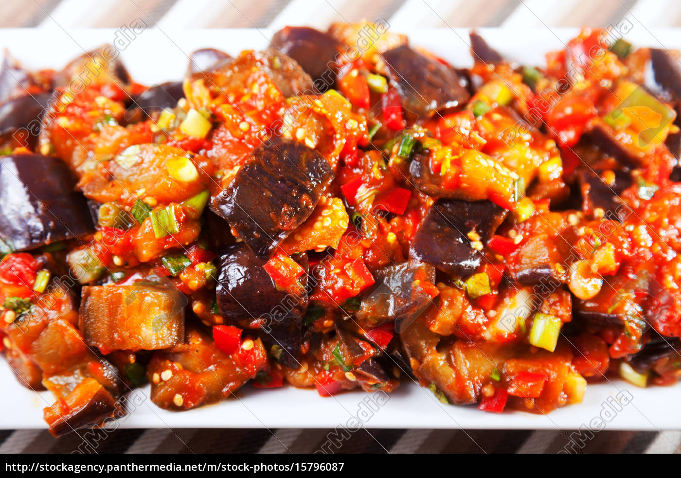 eggplant, , peppers, and, tomatoes, appetizer, eggplant, , peppers - 15796087