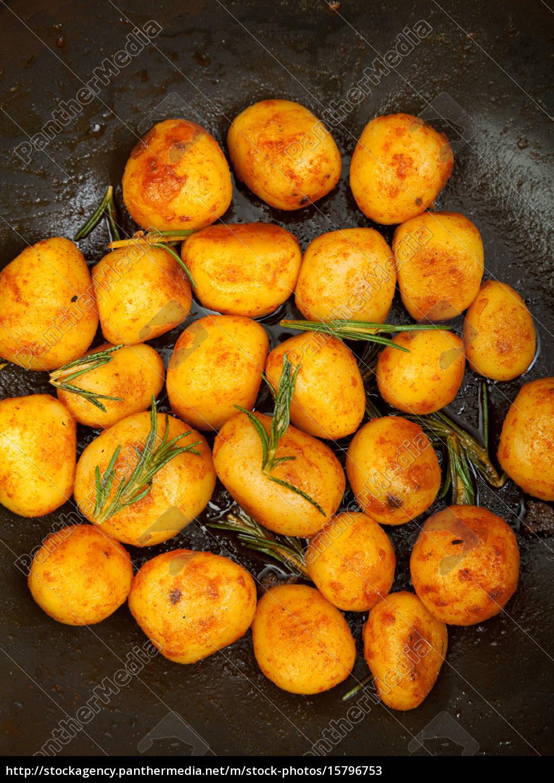 fried, baby, potatoes, fried, baby, potatoes, fried, baby - 15796753