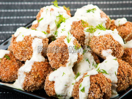 meatballs, with, white, sauce, meatballs, with, white - 15796843