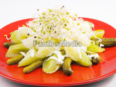 salad, with, marinated, cucumbers, salad, with, marinated - 15796823