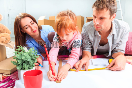 the, happy, family, , during, repair - 15797875