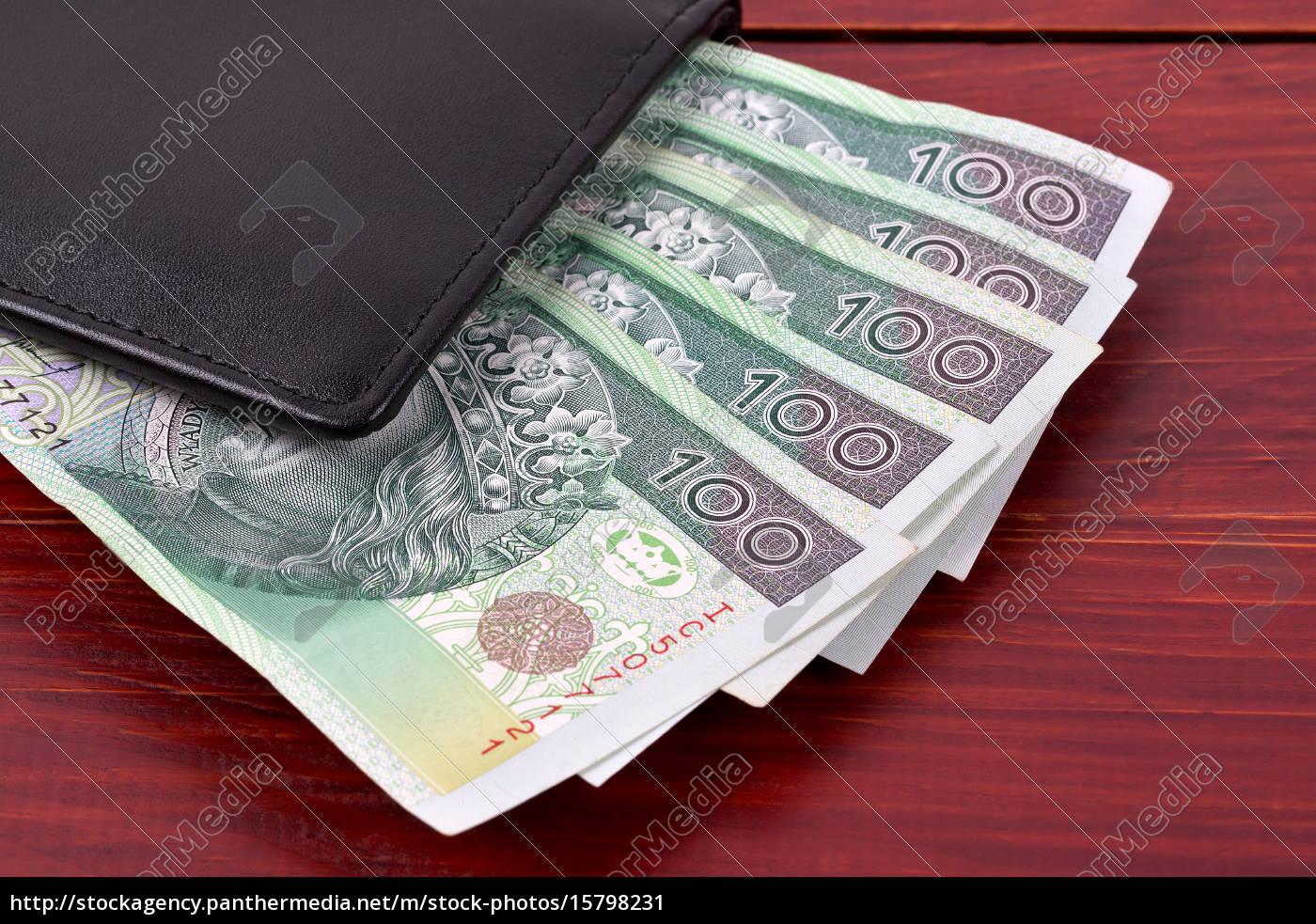 walet, with, polish, money, - 15798231