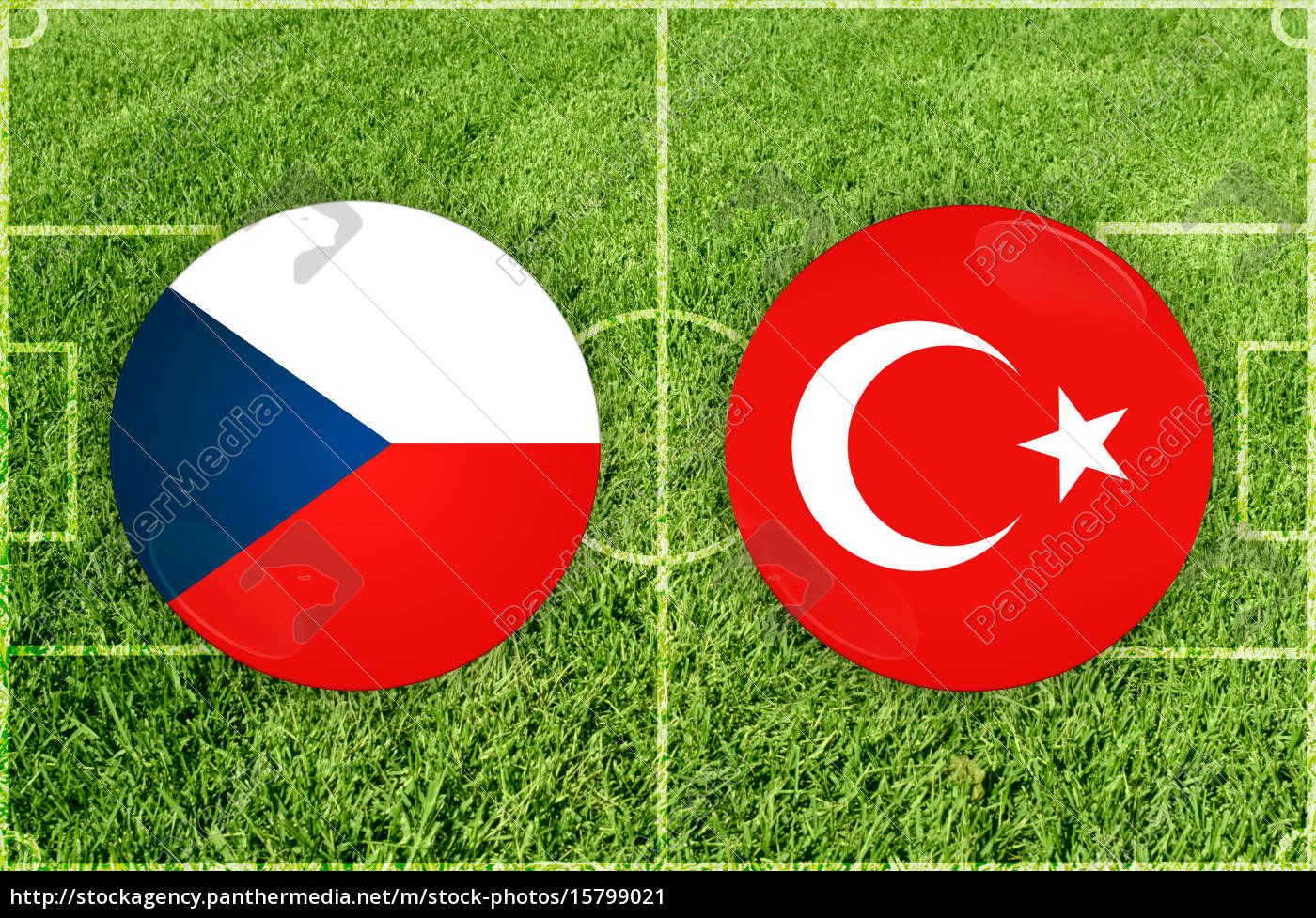 football, match, symbols - 15799021