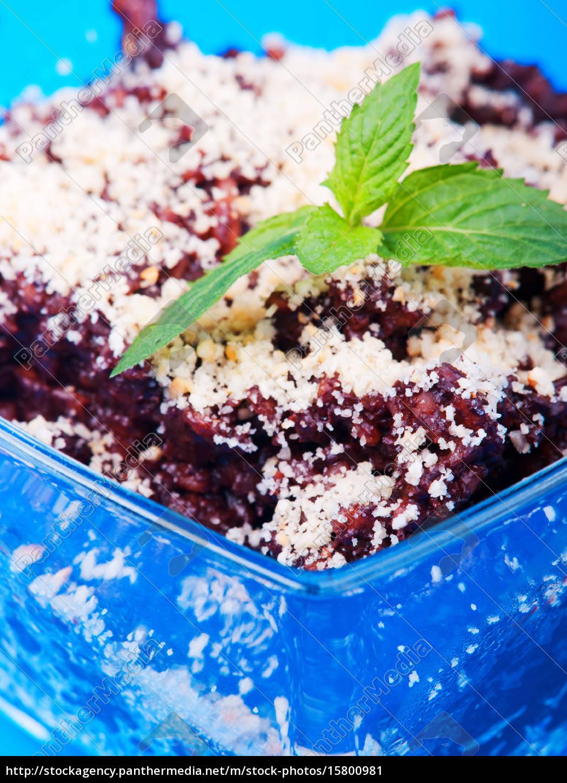 chocolate, rice, dessert, chocolate, rice, dessert, chocolate, rice - 15800981