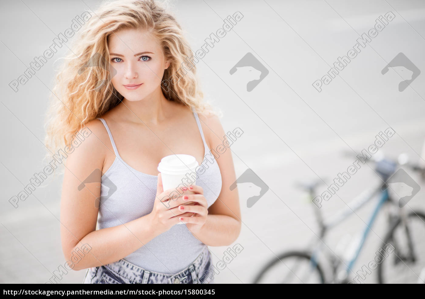 coffee, and, bike. - 15800345