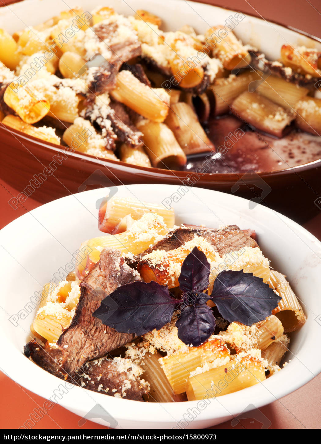 macaroni, with, veal, casserole, macaroni, with, veal - 15800973