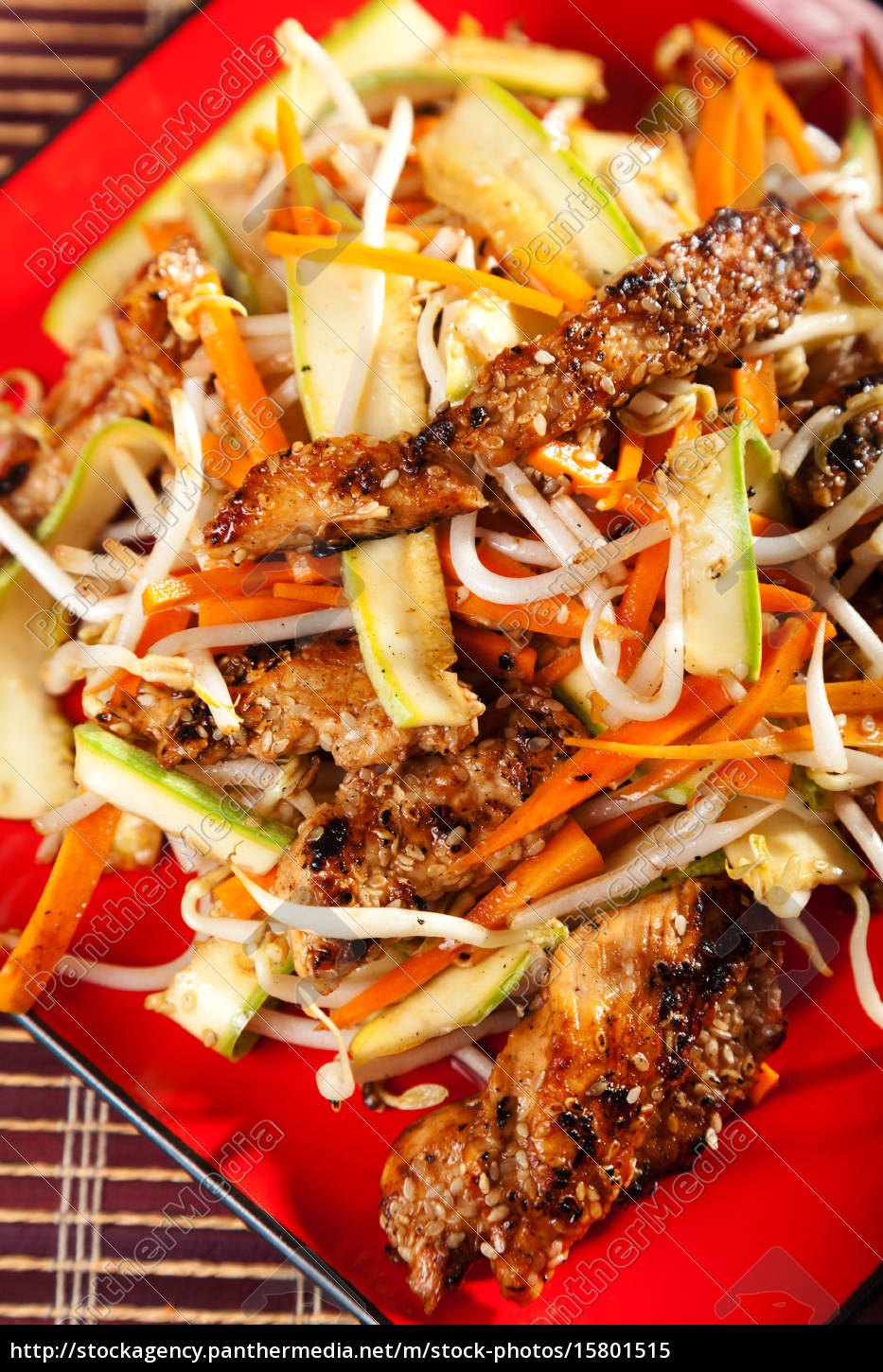 asian, chicken, with, vegetables, asian, chicken, with - 15801515