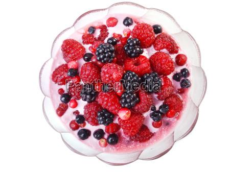 berry, yogurt - 15801795