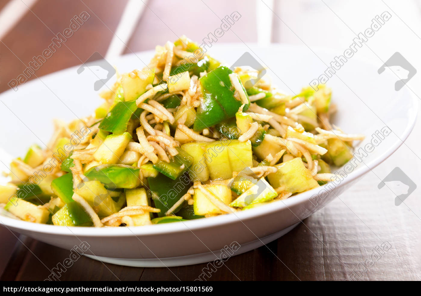 celery, salad, with, peppers, celery, salad, with - 15801569