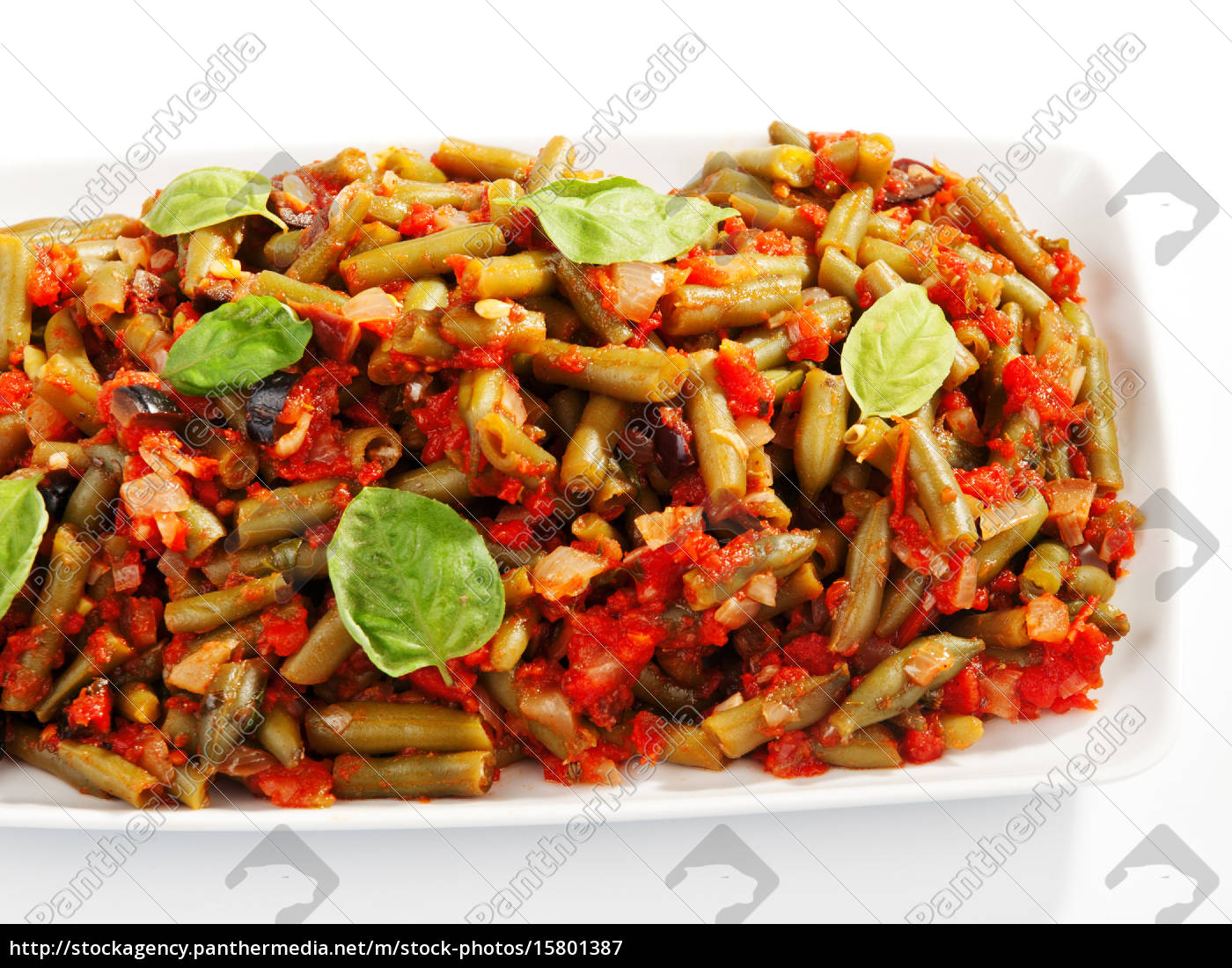french, beans, and, tomato, casserole, french, beans - 15801387