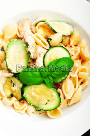 pasta, shell, with, zucchini, pasta, shell, with - 15801017