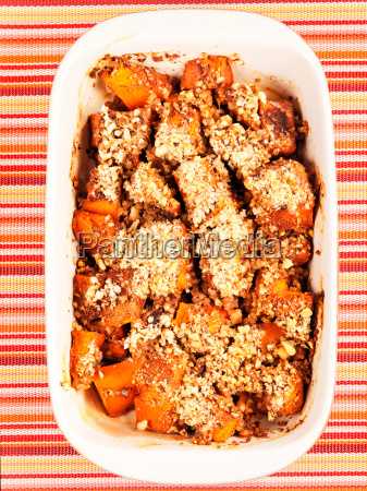pumpkin, with, nuts, casserole, pumpkin, with, nuts - 15801063