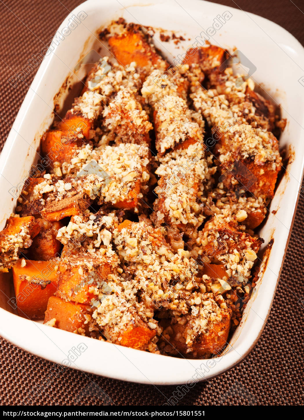 pumpkin, with, nuts, casserole, pumpkin, with, nuts - 15801551