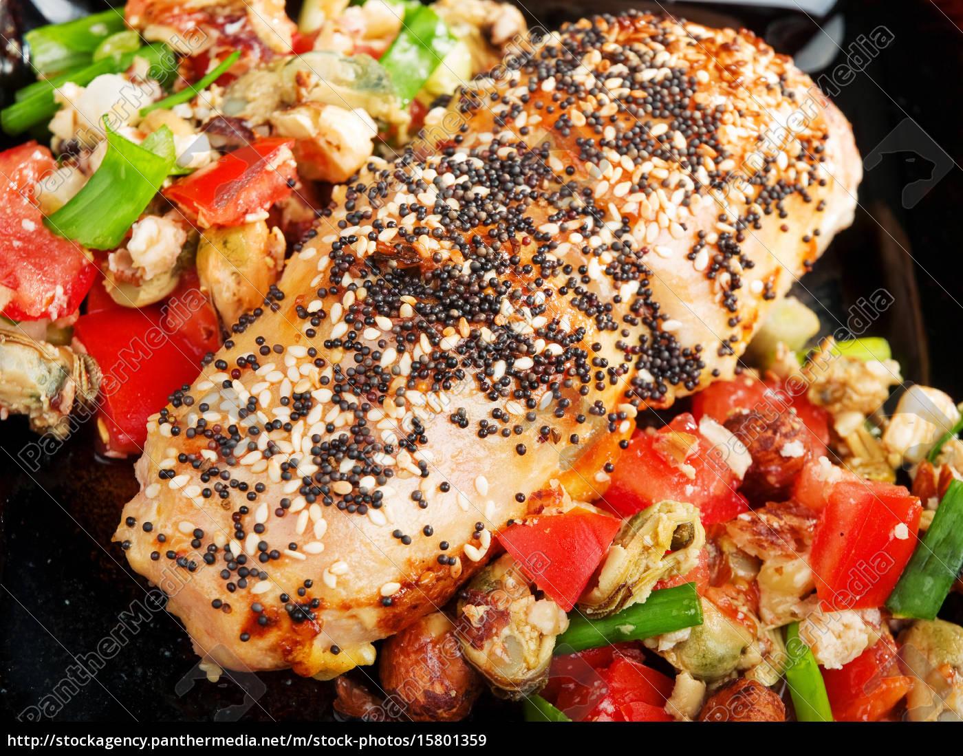 stuffed, chicken, with, salsa, stuffed, chicken, with - 15801359