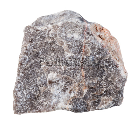 limestone mineral stone isolated on white
