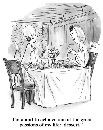 two women are dining in