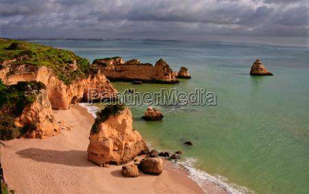 dona ana beach lagos portugal