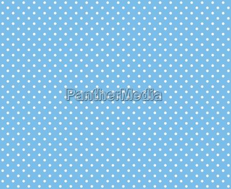 polka dots light blue white