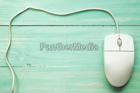 computer mouse with copy space