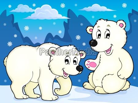 polar bears theme image 1