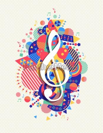 music note icon g treble clef