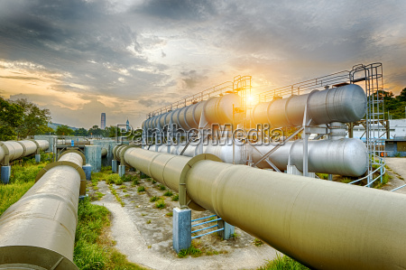 oil, and, gas, industry, refinery, factory - 15872645