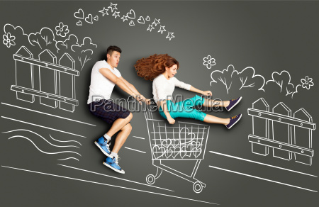 shopping with fun