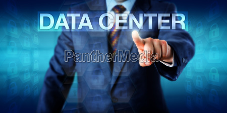 it manager pressing data center onscreen