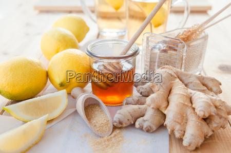 lemons ginger and honey