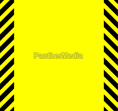 yellow and black warning background