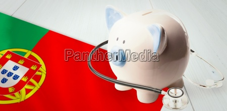 composite image of stethoscope