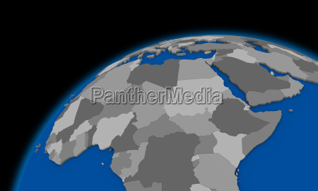 central africa on planet earth political