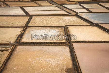 salt works of janubio lanzarote canary