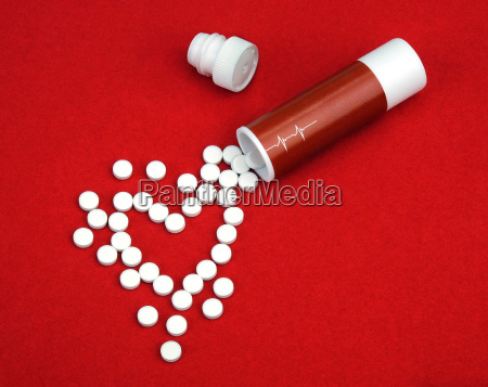 the tablets from heart disease spill