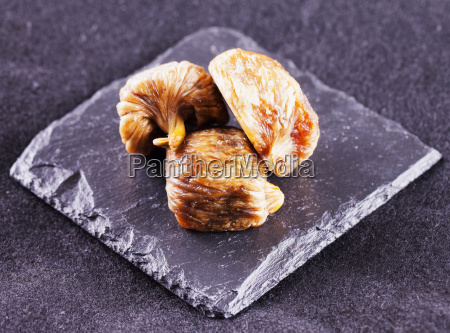 dried figs over stone