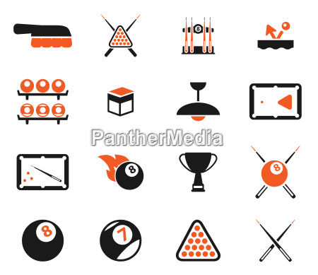 billiards simply icons