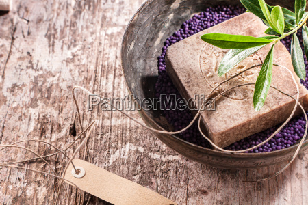oriental crafted bath soap in a