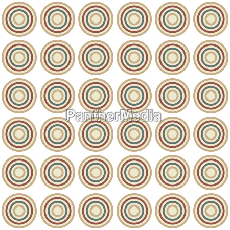 seamless colorful abstract modern concentric circles