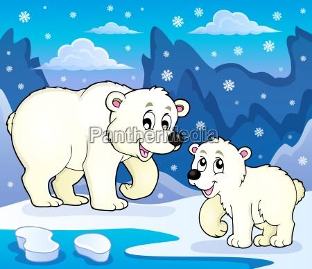 polar bears theme image 4